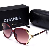 CHANEL  Fashion Popular Sun Shades Eyeglasses Glasses Sunglasses