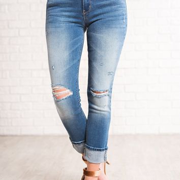 Isaac Flying Monkey Distressed Jeans (Medium Wash)