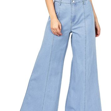Float On Wide Leg Pants