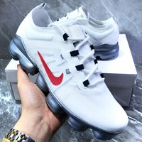 Nike Air Vapormax Popular Men Casual Air Cushion Sport Running Shoes Sneakers White&Red