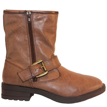 MIA Jania - Brown Engineer Boot