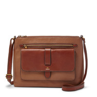 Kinley Medium Crossbody, Brown