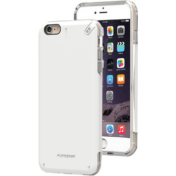 Puregear Iphone 6 Plus And 6s Plus Dualtek Pro Case (white And Clear)
