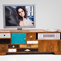 Low wooden TV cabinet Malibu by KARE-DESIGN