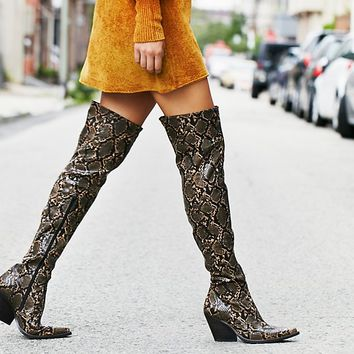 Free People Collins Tall Western Boot