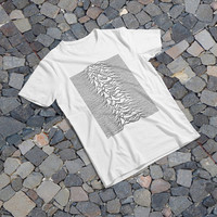 "THE SAMPLE size of the print image on the T-Shirt 12""x12"" Joy Division"