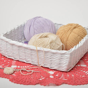 Handmade decorations woven basket paper basket gifts for women home decor