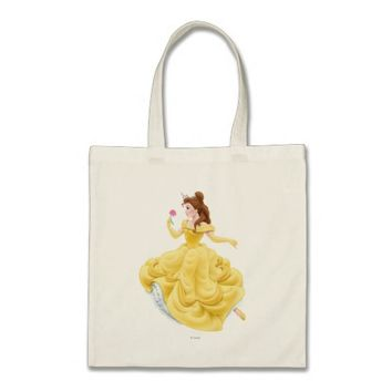 Belle Dancing Tote Bag