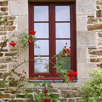 QUAINT BRICK WINDOW BACKDROP 5x6 - LCPC1371 - LAST CALL