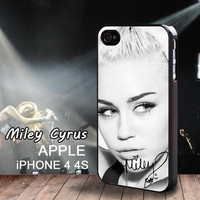 iphone 4 case Autograph Miley Cyrus Limited Edition Signatures iphone 4S Miley Ray Cyrus Case