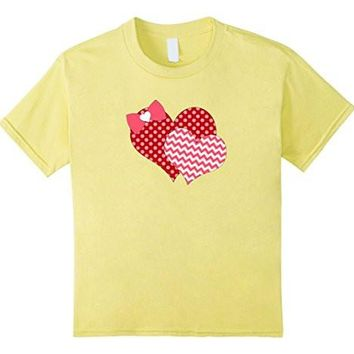 Valentines Day Heart T Shirt A Cute Gift For Women And Girls