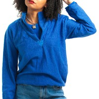Vintage 80's Double Up Layer Look Sweatshirt - One Size Fits Many