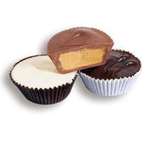 Giant Chocolate Peanut Butter Cups - Milk: 24-Piece Box