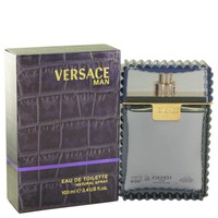 Versace Man By Versace Eau De Toilette Spray 3.3 Oz
