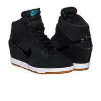 NIKE DUNK SKY HI ESSENTIAL WEDGE SNEAKER - Black | Jimmy Jazz - 644877-011
