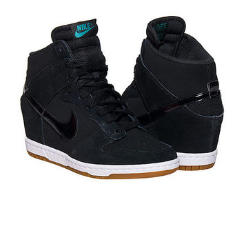 the latest bbcc7 12871 NIKE DUNK SKY HI ESSENTIAL WEDGE SNEAKER - Black   Jimmy Jazz - 644877-011