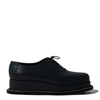 Jil Sander Womens Creeper Sole Leather Lace Up Shoes
