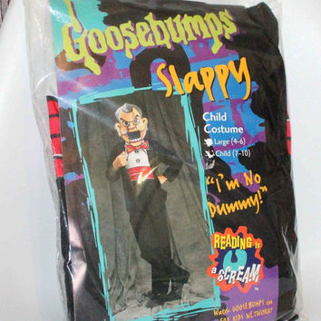 Goosebumps Slappy Halloween Costume Child Size 7-10 New old stock