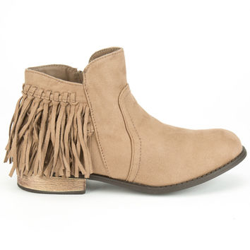 DIVA LOUNGE Oksana Womens Booties 254514413 | Boots