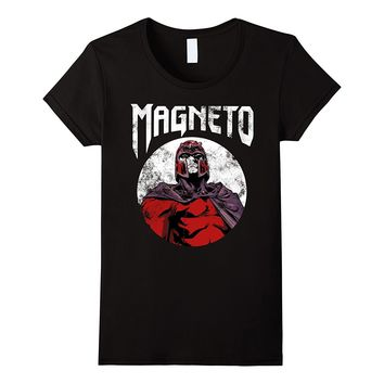Marvel X-Men Magneto Classic Retro Rock Band Graphic T-Shirt