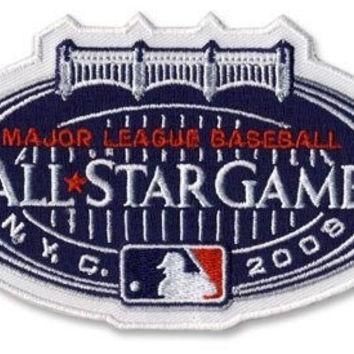 2008 All Star Game MLB Baseball Official Jersey Sleeve Patch - New York Yankees Host