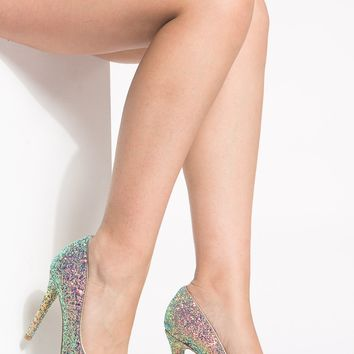Blue Glitter Pointy Toe Classic Pumps @ Cicihot Heel Shoes online store sales:Stiletto Heel Shoes,High Heel Pumps,Womens High Heel Shoes,Prom Shoes,Summer Shoes,Spring Shoes,Spool Heel,Womens Dress Shoes