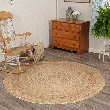 Harlow Collection Braided Jute Rugs