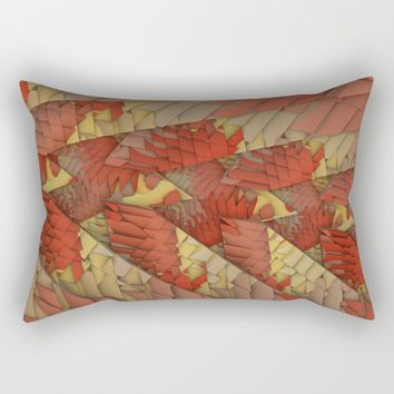 Shattered Again Rectangular Pillow by Lyle Hatch