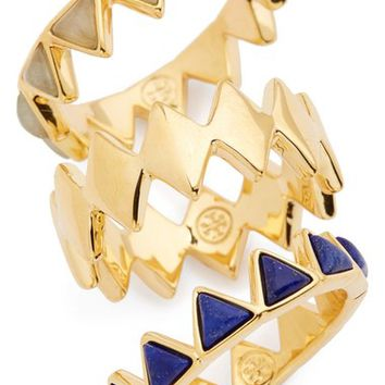 Tory Burch 'Puzzle' Stone Rings (Set of 3) | Nordstrom
