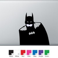 Batman Glowing Face Decal for Macbook, Air, Pro or Ipad
