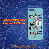 iphone 4 case,iphone 5 case,ipod touch 4 case,ipod touch 5 case,Blackberry z10 case,Blackberry q10--The Beatles,in plastic and silicone