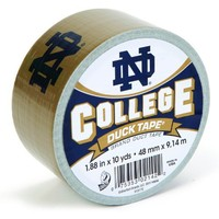 Duck Brand 240297 Notre Dame College Logo Duct Tape, 1.88-Inch by 10 Yards, Single Roll