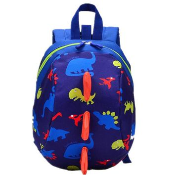 Children Backpack Dinosaur Pattern Kindergarten Backpack for Girls Boys School Bags Cartoon Print Kids Backpacks Casual Book Bag