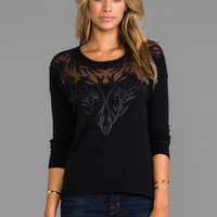 heartLoom Adeline Sweater in Black