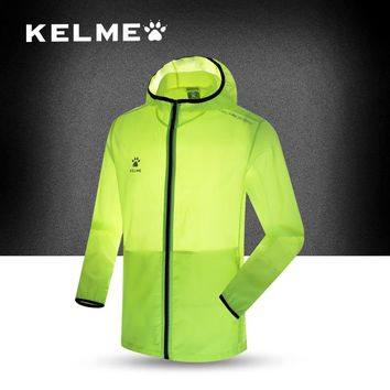 KELME Carle Beautiful Official Flagship Shop Outdoor Windbreaker Male Spring Summer Speed Do Skin Clothes Sunscreen Loose Coat