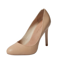 Maiden Lane Women's Heather High Heel Pump - Cream/Tan - Size 6