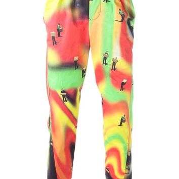 Bernhard Willhelm 'Psychedelic' trousers