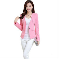 One Button Suit Ladies Blazers