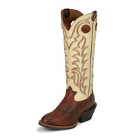 Tony Lama Men's 16 in. 3R Collection Boot, Sienna Maverick Brown
