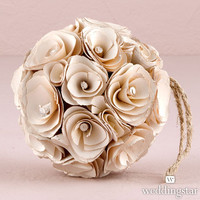 Floral Pomander Wedding Kissing Ball Floral Decoration for Wedding