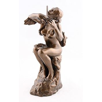 Flute Player Statue Replica by Camille Claudel Parastone 9H