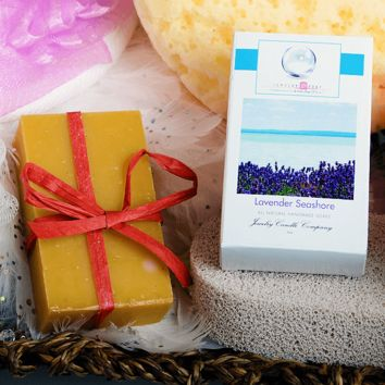Lavender Seashore Jewelry Soap (Comes with Jewel!)