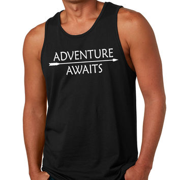 Adventure Awaits Mens Tank Top