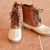 Jango Duck Boot / Beige