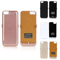 Power Bank Case For Iphone 7 6s 6 Battery Charger Cover External Pack Charging