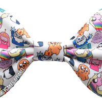 Adventure Time Inspired Hair Bow