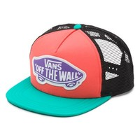 Vans Beach Girl Trucker Hat (Aqua Green)