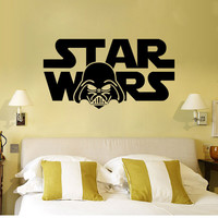 Hot Sale Starwars Wall Sticker Living Room Creative Decoration Waterproof Stickers [4923149828]
