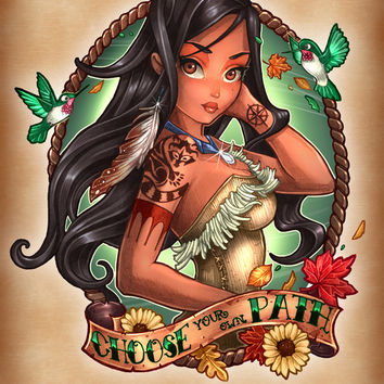 Choose Your Own Path Art Print by Tim Shumate