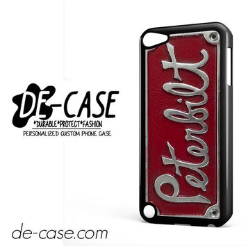 Plate Peterbilt Truck For Ipod 5 Case Phone Case Gift Present